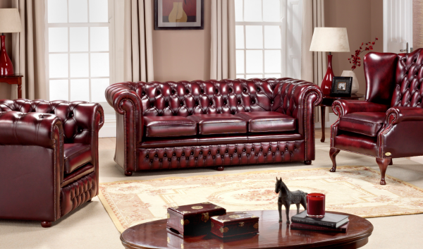 Burnley combinatie - antique red