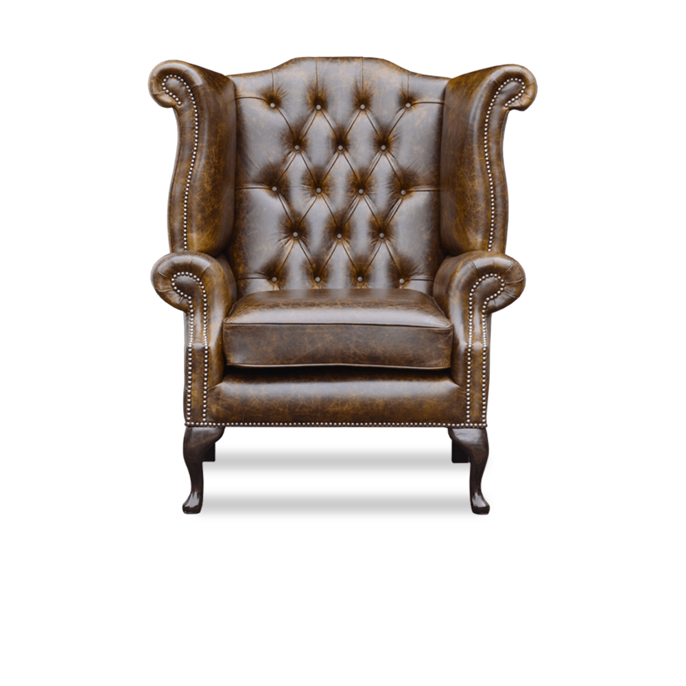 Chesterfield rossendale high chair springvale chesterfields - Traditionele fauteuil ...