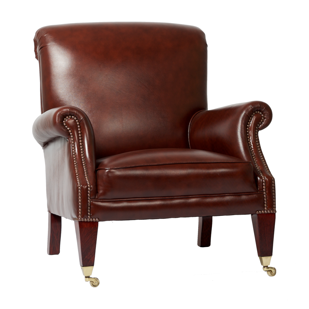Chesterfield study chair springvale chesterfields - Zeer comfortabele fauteuil ...