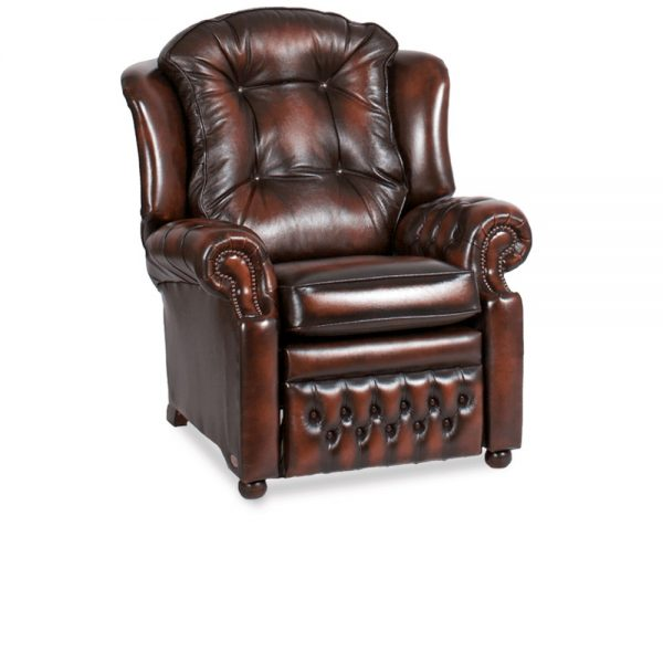 Suzanne recliner - antique dark rust