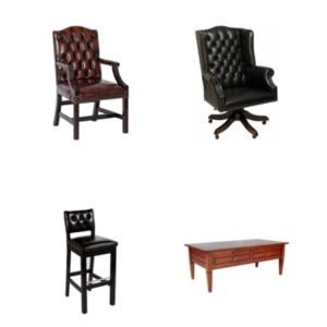 Complete collectie Chesterfield meubelen