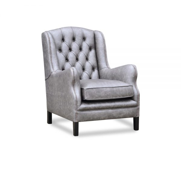 Duke chair - saloon grey