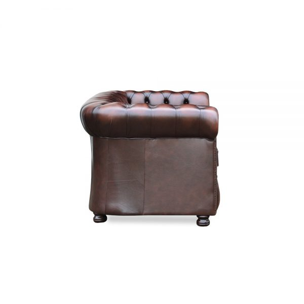 Burnley 2,5 zits - antique chestnut