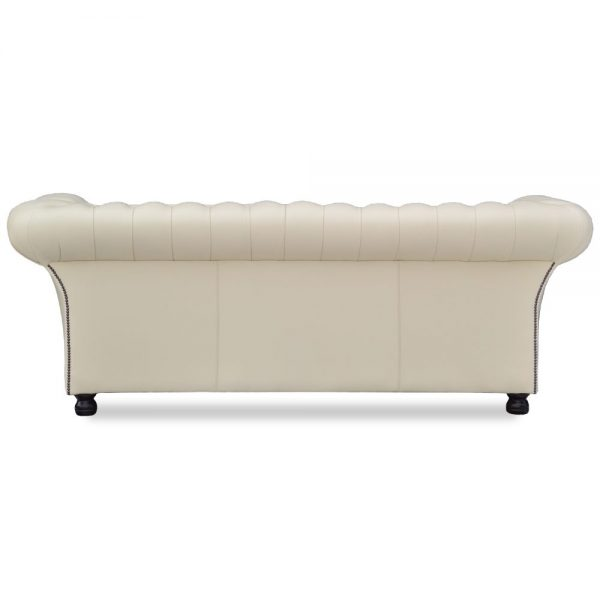 Herne Bay 3 zits buttoned seat - shelly panna