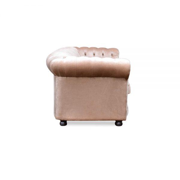 Rossendale 3 zits - majestic velvet taupe