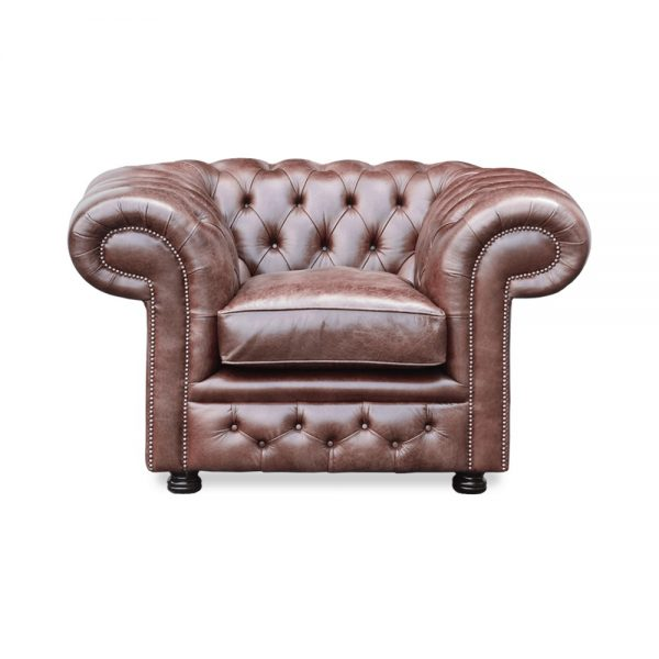 Bristol fauteuil - old English dark brown