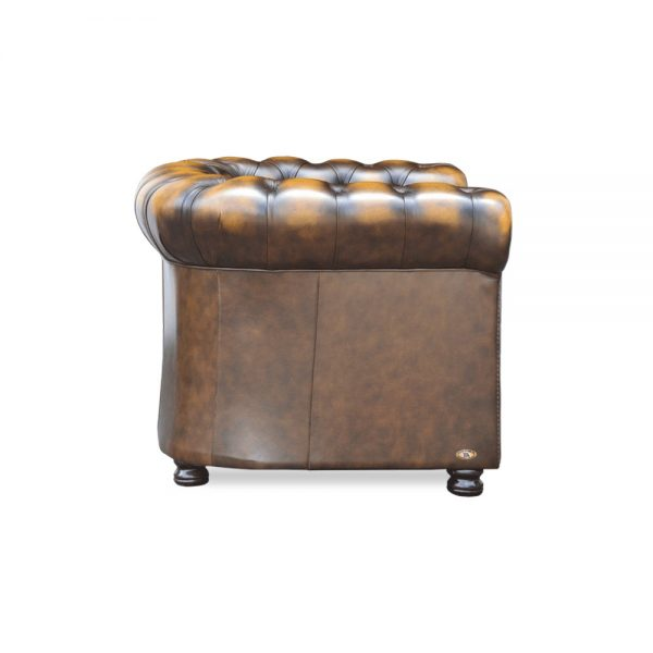Burnley fauteuil - antique gold