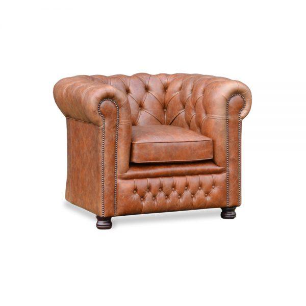 Burnley fauteuil - vintage tan