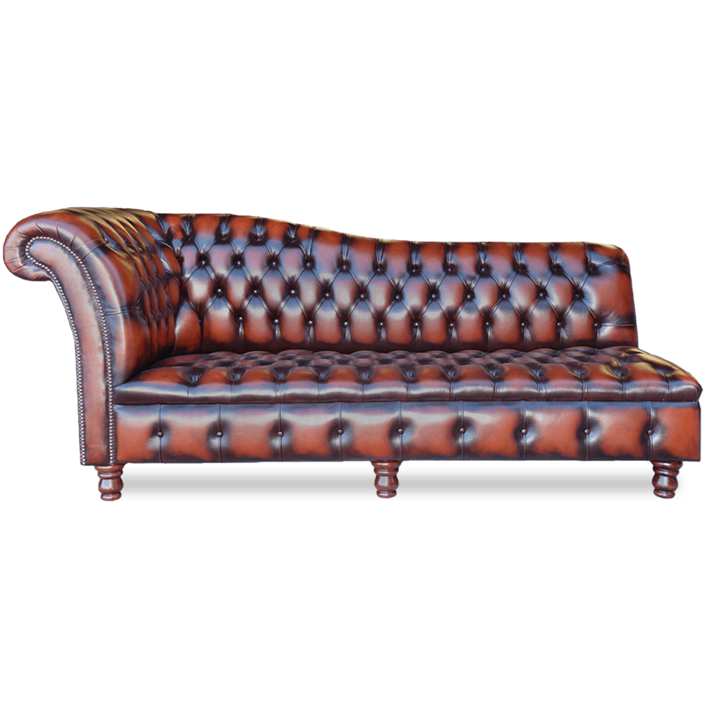 Chesterfield Chaise Longue - Springvale Chesterfields