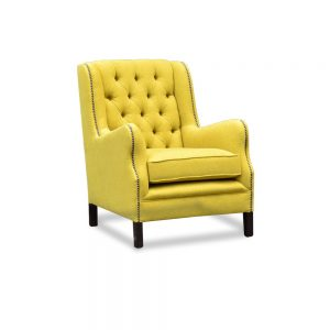 Duke chair - velvet highlander palm