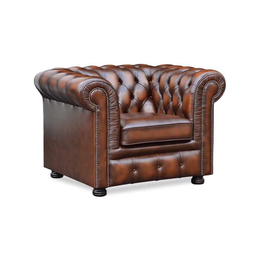 Glenwood fauteuil springvale chesterfields for Tweedehands eetkamerstoelen