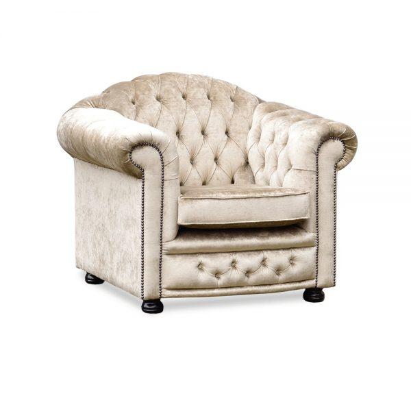 Nottingham fauteuil - majestic velvet