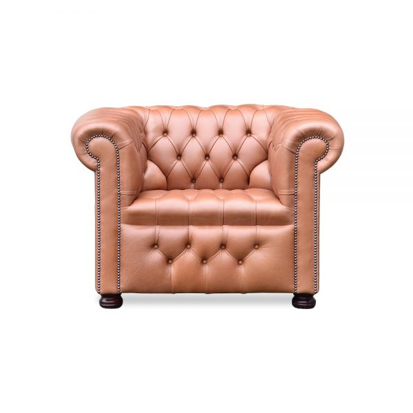 Rossendale fauteuil buttoned seat