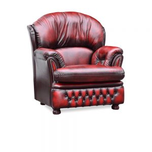 Salisbury fauteuil - antique red
