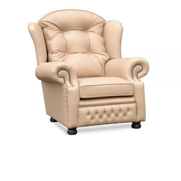 Suzanne fauteuil plain arms - shelly pebble