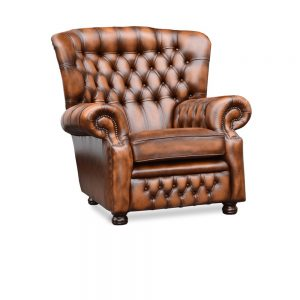 Woburn fauteuil - antique tobacco tan