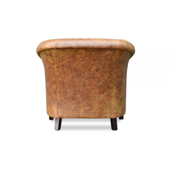 Byron XXL tub chair - vintage cognac