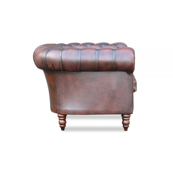 Yorkshire fauteuil - handwish brown