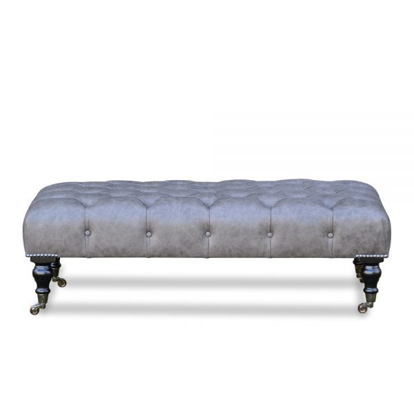Chesterfield Table - saloon grey