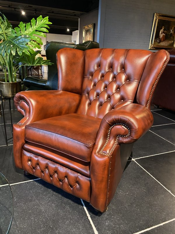 Albany chair - antique light rust
