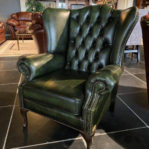 Blenheim high chair - antique green